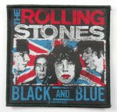 The Rolling Stones - 'Black and Blue' Woven Patch